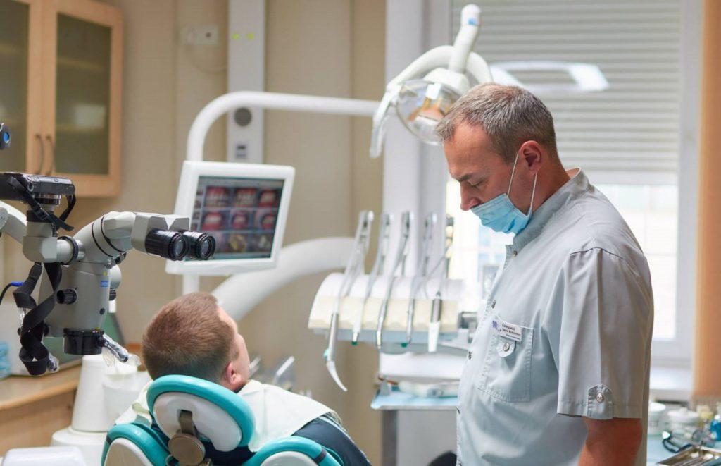 стоматологічний мікроскоп клініка 32 перлини нововолинськ
